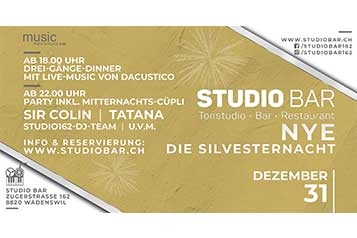 Die Silvesterparty in Wädenswil