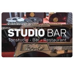 Gutschein Studio Bar