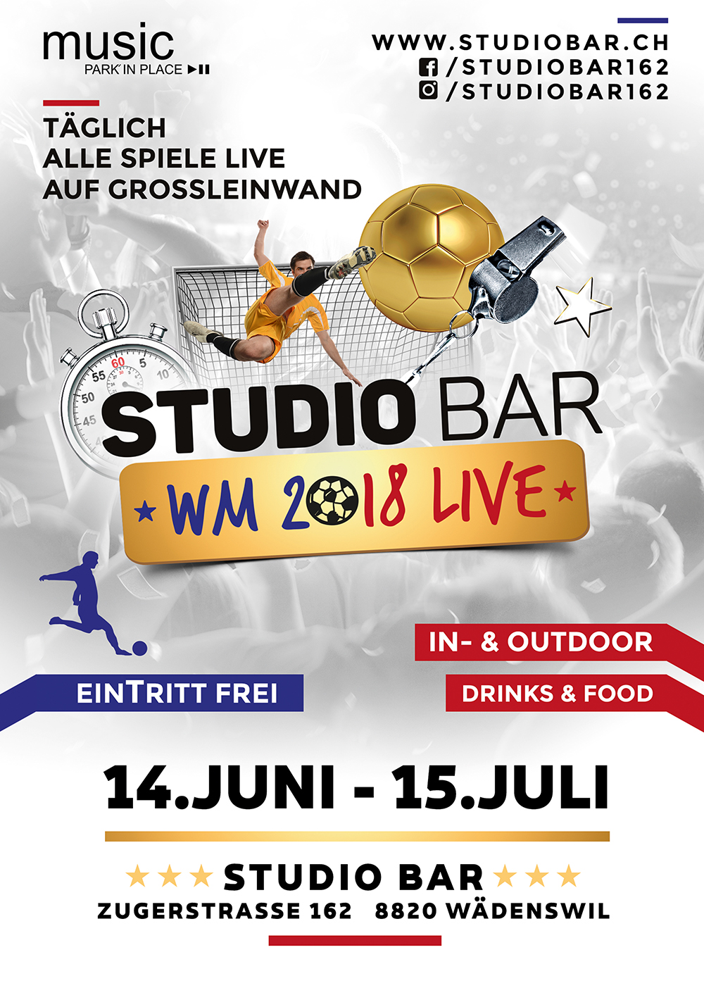 Studio Bar WM Live 2018
